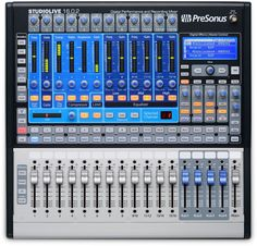 Presonus StudioLive 16.0.2 | 16 Channel Live and Studio Recording Compact Mixer