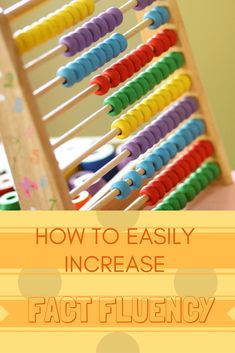 How to easily increase math fact fluency in elementary school students.  These are the methods I use in my third grade math classroom. #factfluency #teaching #teachingmath #mathfacts