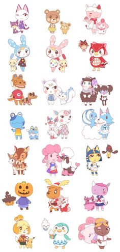 Animal Crossing and Pokemon