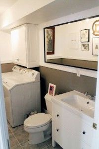Bathroom:Divine Laundry Roomhalf Bath Before And Afters Chris Loves Julia Bathroom  Room Designs Combined Floor Plans Combination Small With Half Ideas ...