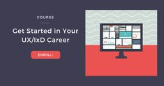 Get Started in Your UX/IxD Career is an online course for designers who want a job in UX/IxD and need support and guidance with a portfolio, resume, and job search. Work with a coach who can help guide you through the process. Portfolio Resume, Web Design, Interaction Design, Job Search, Tutorial, Get Started, Lesson Plans, Curriculum, Career