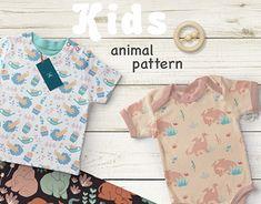 """""""Kids Animal Patterns"""" http://be.net/gallery/67687021/Kids-Animal-Patterns"""