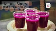 Jamun Shots Recipe at 9834 The Fruit Truck | Healthy Recipe