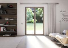 La porte-fenêtre CHARME de OKNOPLAST : design et raffinée.  #fenêtre #deco #architecture
