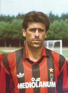 Alberigo Evani - at Milan from 1980 - 1993