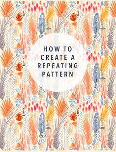 DIY pattern tutorial