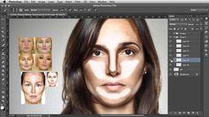 Contour Shaping - Photoshop Makeup Tutorial