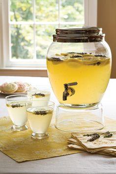 Lavender Lemon Spritzer