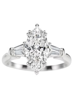 Classic Winston, Marquise #ring.