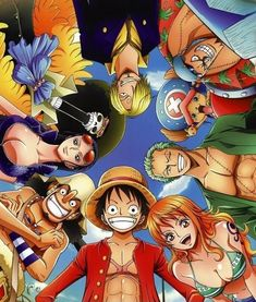 One Piece  Funny, moving, epic, epic, & epic Luffy and his crew are some of the best anime characters out there.
