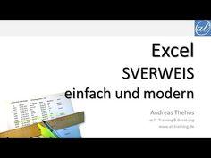 Excel - SVERWEIS - einfach und modern