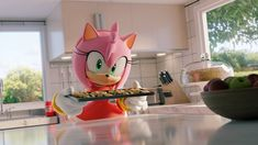 I, Amy Rose, have baked you goodmorning cookies. Goodmorning - I, Amy Rose, have baked you goodmorning cookies. Sonic The Hedgehog, Hedgehog Movie, Shadow The Hedgehog, Amy Rose, Tikal, Fluttershy, Shadow Sonic, V Chibi, Rouge The Bat