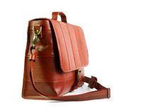 I recommend looking into the Elvis and Kresse brand. They are doing really great things from the sunny U. Fire Hose, Ethical Brands, How To Make Clothes, New Bag, We Wear, Sling Backpack, Sustainability, Fashion Backpack, Satchel