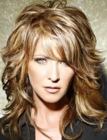 Image result for Medium Long Shaggy Hairstyles for Women Over 50 2015