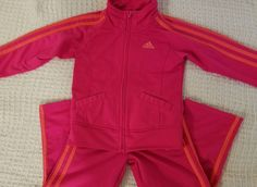 Adidas Jogging Suit Pink 4T EUC | Clothing, Shoes & Accessories, Baby & Toddler Clothing, Girls' Clothing (Newborn-5T) | eBay!