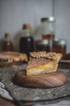 Salted Rose and Honey Pie