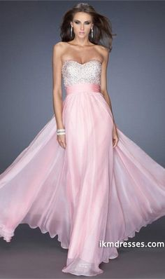 http://www.ikmdresses.com/2014-Full-Length-Prom-Dress-Beaded-Bodice-Ruched-Waistband-Chiffon-Shirred-Chiffon-Skirt-p80899
