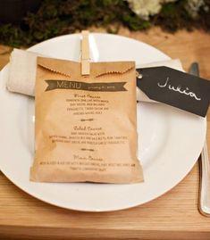 Sweet menu idea