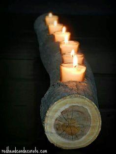 Log Candle