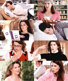 the many faces of Lorelai Gilmore