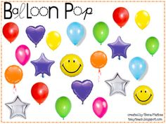 This is a fun get-to-know-you Back to School activity! Students pop a balloon and answer the question. ...