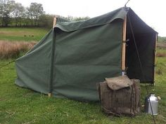 #Baker campfire tent, #canvas tent, canoeing, camping, #bushcraft,  View more on the LINK: http://www.zeppy.io/product/gb/2/252234414843/