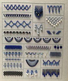 Fringe with beads
