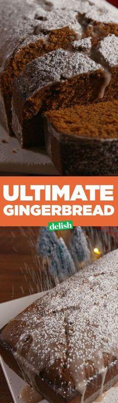 Ultimate Gingerbread is better than banana bread.This Ultimate Gingerbread is better than banana bread. Bon Dessert, Dessert Bread, Dinner Dessert, Baking Recipes, Cake Recipes, Dessert Recipes, Holiday Baking, Christmas Baking, Italian Christmas