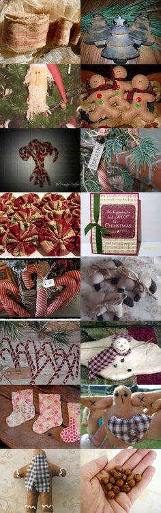 Primitive Christmas for under $5.00 by cynthia chapman on Etsy--Pinned with TreasuryPin.com
