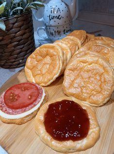 Αέρινα πουφ πουφ - Είναι εύκολα ελαφριά ότι πρέπει για βραδινό και όχι μόνο - Αλμυρά ή γλυκά το ίδιο υπέροχα - Χωρίς καθόλου αλεύρι Pancakes, Breakfast, Food, Morning Coffee, Eten, Meals, Pancake, Morning Breakfast, Crepes