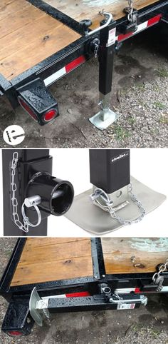 This utility jack allows you raise and lower your trailer. It's heavy duty construction allows you to lift capacity of 7,000 pounds and a support capacity of 8,000 pounds. It has a tubular swivel design. This is going to let you swing the jack up along the trailer frame for storage and bring it back down when you're ready to use it.