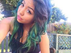 touch ups dark blue , green, neon green, purple