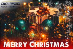 The team at Groupworx wishes you peace, joy, and prosperity throughout the Holiday Season. Thank you for your continued support and partnership. We look forward to working with you in 2020 Christmas Bulbs, Merry Christmas, Joy, Seasons, Holiday Decor, Peace, Merry Little Christmas, Christmas Light Bulbs, Glee