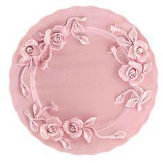 rambling rose tea set by domayne cake plate