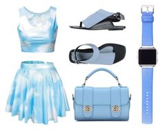 """Sky"" by quality-top ❤ liked on Polyvore featuring Fitbit and Kenzo"