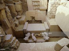 5th Dynasty - Sarcophagus in the burial chamber of the Per Djet - House of Eternity (mastaba) of Ptah-shepses at Abusir