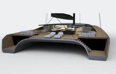 BlackCat, le catamaran en fibre de carbone capable d'atteindre 30 nœuds