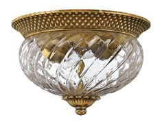 View the Hinkley Lighting H4102 2 Light Indoor Flush Mount Ceiling Fixture from the Plantation Collection at LightingDirect.com.