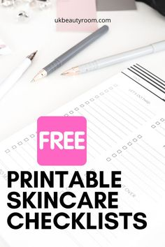 Get your free skincare printable check lists.  They are excellent if you are following the Korean skincare routine which has multiple stages as they help you keep track of which products you are using.  There are checklists to be printed weekly and daily so you can keep try of how often you are using your acids, masks and oils!  I also want my readers to know that I will never send more than 1-2 emails per week.  I hate spam too!  I also hope the beauty content I write is helpful and useful