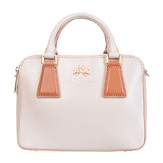 92080603510c LA MARTINA Leather Box Tote Bag Crumpled Effect Zipped Structured Design  RRP320  fashion  clothing  shoes  accessories  womensbagshandbags ...