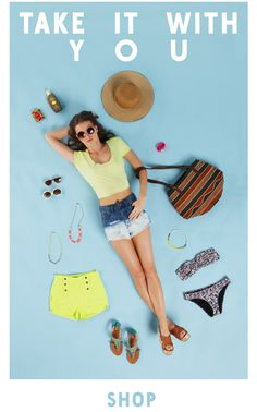 Urban Outfitters e-mailed this to me this morning...and I'm officially counting down the days until summer!