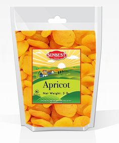 SUNBEST Jumbo Dried Apricots 1 (Turkish) 3 Lbs in Resealable Bag *** You can get more details by clicking on the image.