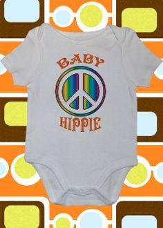 Baby Hippie Onesie or Toddler Tee
