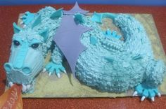 Dragon Birthday Cake By CupcakePantry on CakeCentral.com