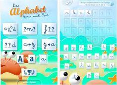 Das Alphabet lernen macht Spaß
