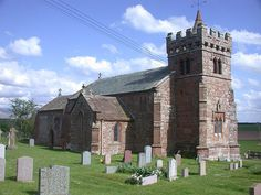 Edenhall - St Cuthbert's Church... the Musgrave family church... said prayers for my mother Lucille Virginia Musgrave here 3 months after her death ;)