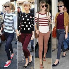 Fashion vintage style taylor swift Ideas for 2019 Taylor Swfit, Taylor Swift Moda, Estilo Taylor Swift, Taylor Alison Swift, Taylor Swift Style Casual, Taylor Swift Outfits, Taylor Swift Clothes, Taylor Swift Fashion, Oufits Casual