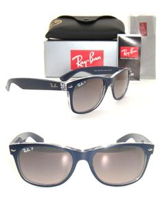 Check out the product reviews around Authentic Ray-Ban New Wayfarer RB 2132 Blue / Grey Gradient Polarized