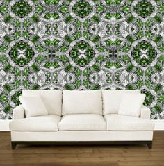kaleidoscope #green #wallpaper