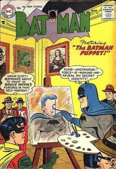 """The Batman Puppet!"""